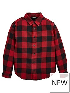 v-by-very-boys-check-shirt-red