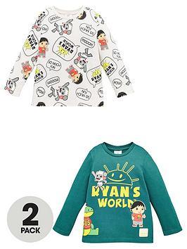 ryans-world-boys-ryans-world-2-pack-long-sleeve-t-shirts-multi