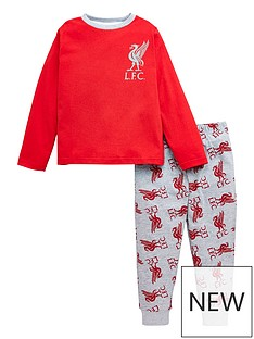 liverpool-fc-unisex-kids-motif-long-sleeve-football-kit-pjnbspset-red