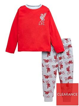 liverpool-fc-unisex-kids-motif-long-sleeve-football-kit-pjnbspset-red