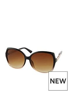 accessorize-sadie-two-tone-square-sunglasses-black