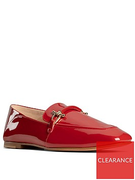 clarks-pure2-leather-loafer-red-patent