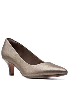 clarks-linvale-jerica-leather-low-heeled-shoe-metallic-leather