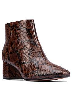 clarks-sheer-flora-2-block-heel-ankle-boot-dark-tan