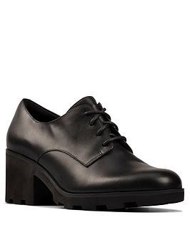 clarks-rene-lace-up-heeled-shoe-black