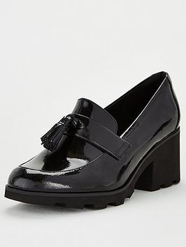 clarks-rene-heeled-loafers-black
