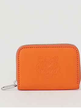 kenzo-tiger-zip-coin-purse-orange