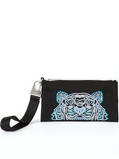 kenzo-tiger-pouch-wallet-black