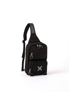 kenzo-one-shoulder-backpack-black
