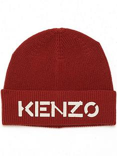 kenzo-painted-kenzo-knit-hat-red