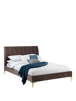 julian-bowen-deconbspvelvet-bed-frame