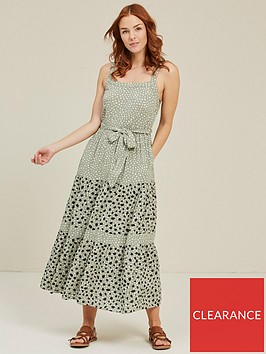 fatface-nita-double-spot-maxi-dress-pistachio