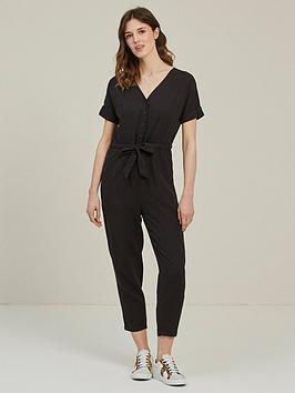 fatface-rhio-linen-blend-jumpsuit-black