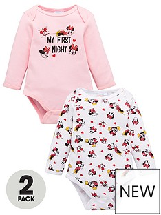 minnie-mouse-baby-girl-minnie-mouse-2-pack-my-first-night-bodysuits-pink