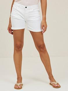 fatface-denim-shorts-white