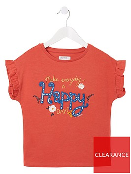 fatface-girls-make-everyday-happy-graphic-t-shirt-red