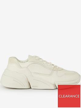 kenzo-kross-lace-up-sneakers-cream