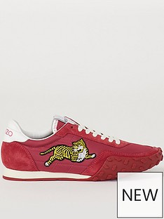kenzo-move-lace-up-sneakers-redpink