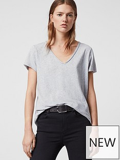 allsaints-emelyn-tonic-tee-grey