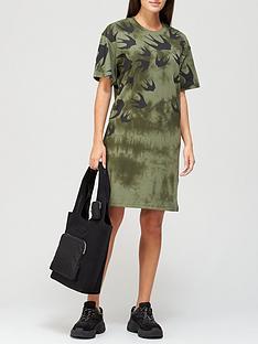 mcq-alexander-mcqueen-swallow-print-slouchynbspt-shirt-dress-khaki