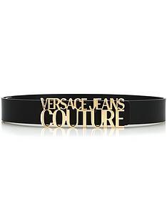 versace-jeans-couture-logo-belt-black