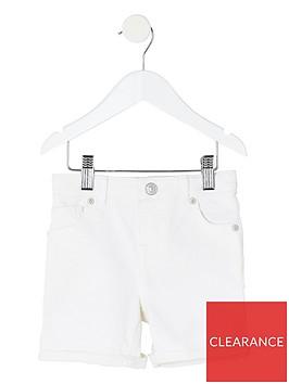 river-island-mini-boys-denim-shorts--nbspwhite