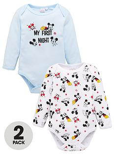 mickey-mouse-baby-boy-mickey-mouse-2-pack-my-first-night-bodysuits-blue