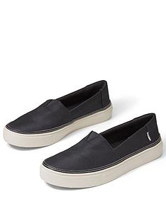toms-parker-chunky-sole-plimsoll-black