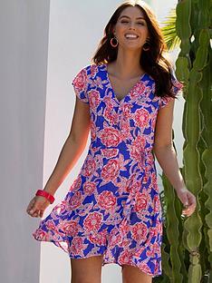 pour-moi-textured-frill-wrap-beach-dress