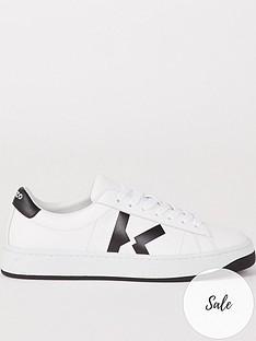 kenzo-k-logo-lace-up-sneakers-white