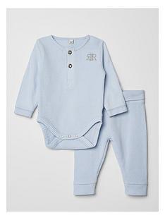 river-island-baby-boys-waffle-bodysuit-and-leggings-set--nbspblue