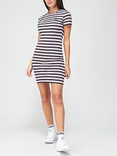 adidas-originals-comfy-cords-striped-dress-blackpurplenbsp