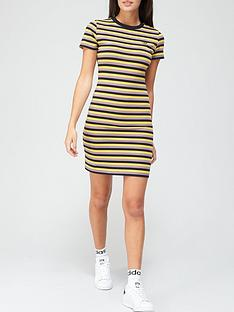 adidas-originals-comfy-cords-striped-dress-blackpurplenbsp