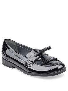 start-rite-sketch-older-girls-loafer-shool-shoes-black-patent
