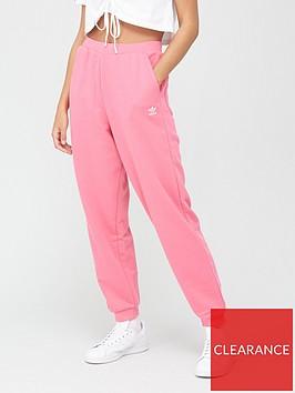 adidas-originals-trefoil-cuffed-tracknbsppants-pink