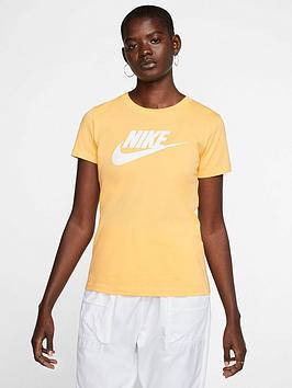 nike-nswnbspicon-futura-t-shirt-topaz-gold