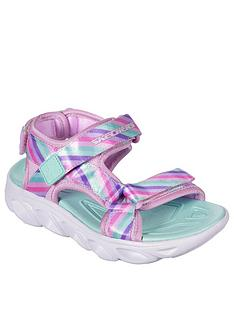 skechers-girls-hypno-splash-rainbow-lights-sandals-pink