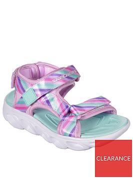 skechers-girls-hypno-splash-rainbow-lights-sandals-pink