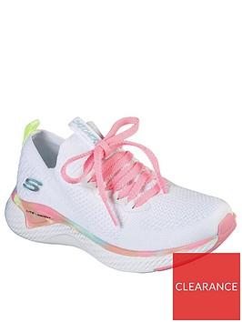 skechers-girls-solar-fuse-trainers-white