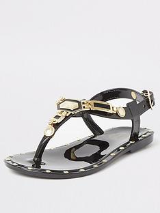 river-island-mini-mini-girls-studded-jelly-sandalsnbsp-nbspblack
