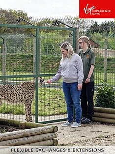 virgin-experience-days-luxury-lodge-stay-with-dining-and-hand-feeding-experience-for-two-at-the-big-cat-sanctuary-kent