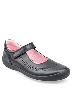 start-rite-girls-spirit-strap-school-shoes-black