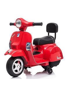 battery-operated-vespa-red