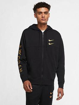 nike-swoosh-reflective-full-zip-hoodie-blackgold