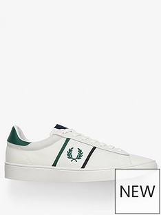 fred-perry-spencer-mesh-trainer-with-tipping-white