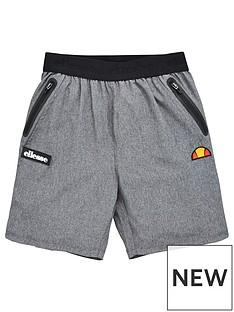 ellesse-older-boys-sesimo-shorts-grey