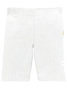 ellesse-older-girls-suzina-cycling-shorts-grey-marl