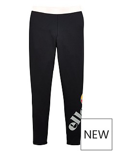 ellesse-older-girls-speedio-legging-black-pink