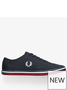fred-perry-kingston-twill-trainer