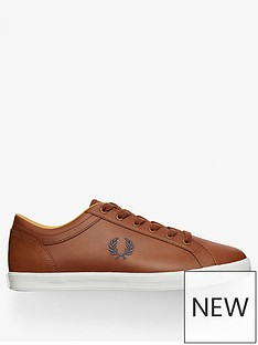 fred-perry-baseline-leather-trainer-tan